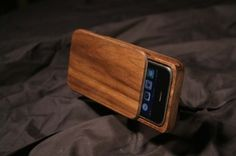 Wood iPhone Case - Custom handmade box for iPhone 3G or 3GS