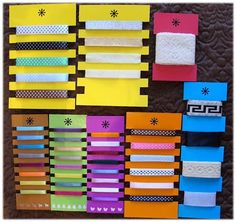 Organize your ribbons