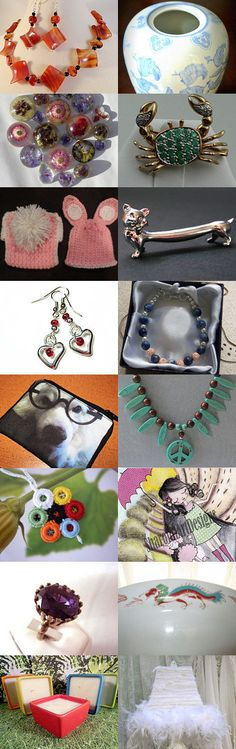 100% Statteam Treasury Club Treasury by Cheryl on Etsy--Pinned with TreasuryPin.com #TurquoisePeaceNecklace