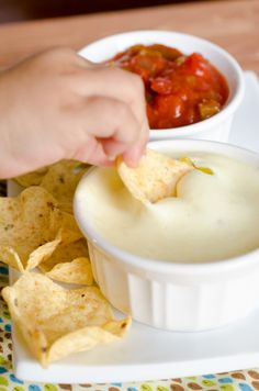 White Queso Dip 4 (White Cheese Dip) | ***DANGER***This recipe came from someone who actually worked at a Mexican restaurant and passed along this recipe on how to make Queso Blanco Dip (white cheese dip) like they do in their restaurant _ Source: http://www.seededatthetable.com/2011/11/30/queso-blanco-dip-the-second-and-final-attempt/