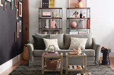 Big news for small space dwellers: Pottery Barn just released a furniture collection of multifunctional, size-conscious pieces that are the opposite of suburban sprawl.