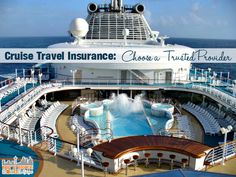 Cruise Insurance: Choose a Trusted Provider and why I won't cruise without insurance ad