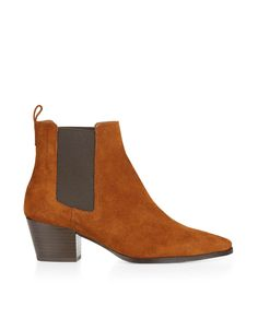Baird Pointed Chelsea Boot | Brown | Monsoon