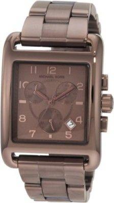 Relógio Michael Kors Women's MK5496 Davenport Chocolate Chronograph Watch #relogio #MichaelKors
