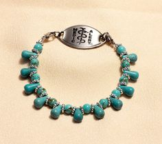 Medic Alert Jewelry Medical Bracelet Medic Alert by grammysattic12, $25.00