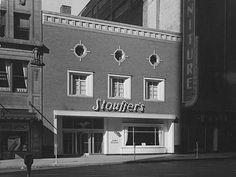 Vintage 1948 - Stouffer's Restaurant, Pittsburgh, Pennsylvania
