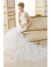 Glamoures Maßgeschneidering Schönes Hochzeitskleid