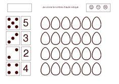 Télécharger les jeux d'eveil Paques gratuitement Math For Kids, Fun Math, Kindergarten Math Worksheets, Home Activities, Easter Party, Easter Crafts, Kids And Parenting, Coloring Pages, Preschool