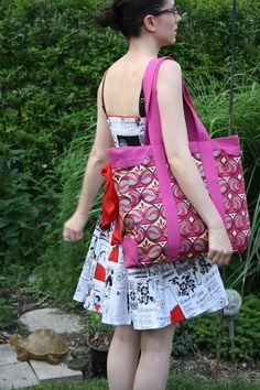Sew Sweetness Tutorial: Secretary Bag