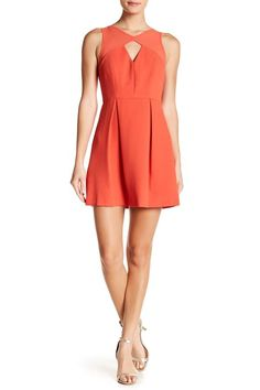 BCBGeneration Peek A Book Fit And Flare Dress Cute Short Dresses, Dresses For Work, New Fashion, Girl Fashion, Bcbgeneration, Nordstrom Dresses, Fit And Flare, Fitness, Flare Dress