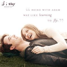 Could these two be any cuter? The answer is no. | If I Stay