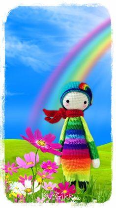 Lil' Rainbow Pattern by : Lalylala