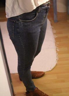Melville Brandy High Waist Jeans Blau Zara, High Waist Jeans, Skinny Jeans, Pants, Fashion, Reach In Closet, Fashion Women, Kleding, Trouser Pants