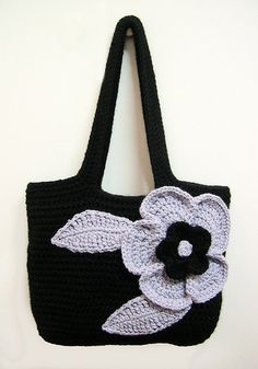 cute crochet purse <3