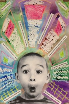 kindergarten self portraits - Google Search                                                                                                                                                      More