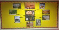 Africa display beginning