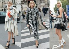 Meet Russia's Top Street Style Stars Elena Perminova, model, mother, wife of billionaire media mogul Alexander Lebedev