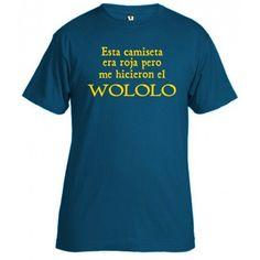 camiseta wololo - Age of Empires
