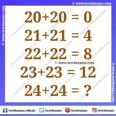 Math brain teasers for adults with answers