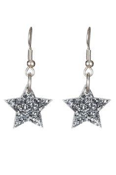 Tatty Devine Star Charm Earrings