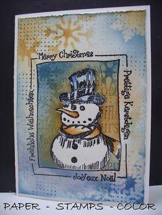 Katzelkraft blauwterra snowman frame (1)