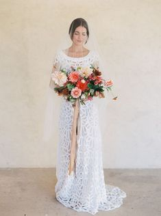 Every one of these wedding floral designs will elevate your destination wedding from a traditional summer soirée to a gorgeous fall retreat.