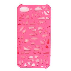 Unique Mesh Protective Case for iPhone 4(Pink) – USD $ 2.69