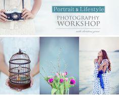 Portrait and Lifestyle Photography Workshop #christinagreve