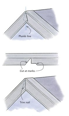 Metal rake-edge roof flashing is sold without labels or instructions. Roofing contractor Dyami Plotke offers his advice on edge flashing for roofs. Pliage Tole, Vinyl Siding Installation, Diy Roofing, Roof Flashing, Roof Edge, Framing Construction, Steel Frame House, Roof Detail, Roof Structure