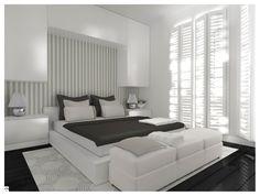 Sypialnia styl Minimalistyczny - zdjęcie od MB Interior Design - Sypialnia - Styl Minimalistyczny - MB Interior Design