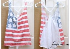 No Sew!! 4th of July Tank « Recipe Snobs
