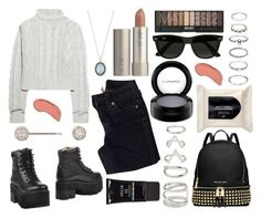 """""""❃ ❃ ❃"""" by patricia-manso ❤ liked on Polyvore featuring MAC Cosmetics, Jeffrey Campbell, True Religion, Bamford, Elise Dray, Forever 21, NYX, Armenta, MICHAEL Michael Kors and Stila"""