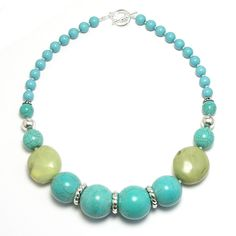 love turquoise and lime... again!