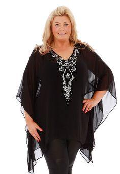 Perfect for the beach: Gemma promises that her range will help fuller-figured women feel c...