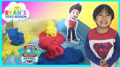 nice Kinetic Sand Paw Patrol Adventure Bay Beach Playset Toys for Kids Ryan ToysReview