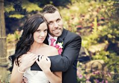 pose for bride and groom- minus the goofy smiles in this pic