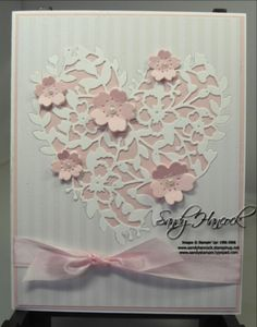 Bloomin Love thinlit, Irresistible DSP, Flowers, Stampin Up