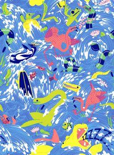 Lacoste L!ve | Micah Lidberg by Hugo & Marie , via Behance