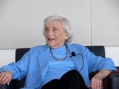 """Marthe Cohn is an author and Holocaust survivor. Her book,  """"Behind Enemy Lines: the True Story of a French Jewish Spy in Nazi Germany"""", details how Cohn, a nurse fluent in German, traveled into German territory and collected intelligence information for the French Army. Cohn was decorated with the Croix de Guerre in 1945 with two citations for her work as a member of the First French Army Intelligence Service."""