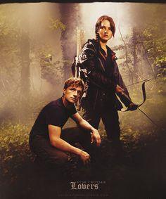 Peeta & Katniss. So ready for the film!
