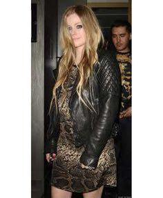 Women Avril Lavigne Black Awesome Leather Jacket