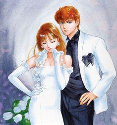 "Megumi Ayase & Shingo Tachibana from ""Creamy Mami The Magic Angel"" series by manga artist Akemi Takada."