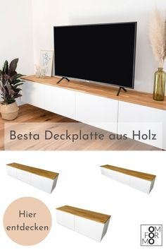 Ikea Interior, Interior Styling, Interior Design, Ikea Hack Besta, Tv Stand Room Divider, Ikea Tv Stand, Tv Stand Sideboard, Ikea Living Room, Home And Living