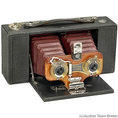 Kodak Eastman: Stereo Brownie No.2 camera