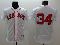 061da4cd2 Majestic Boston Red Sox  34 David Ortiz White Flexbase Collection Jersey  Cheap Nba Jerseys