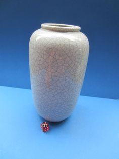Karlsruher Majolika - Fridegart Glatzle - Vase Craquele - 5561 - 23 cm