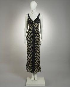Valentino Couture Animal Print Dress
