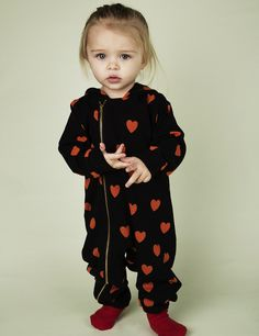 mini rodini: hearts jumpsuit
