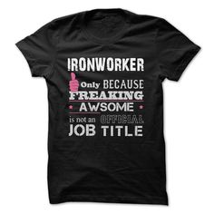 Awesome Ironworker Shirtsin the U.S.A - Ship Worldwide Select your style then click buy it now to !  Money Back Guarantee safe and secure checkout via: Paypal Credit Card. Click Add To Card pick your shirt style/color/size andIronworker shirt, Ironworker shirts, Ironworker Shirts, Ironworker Shirt, Ironworker job, Ironworker Jobs, Ironworker Job, Ironworker jobs, Awesome Ironworker, Awesome Ironworker Shirts, Awesome Ironworker Shirt, Awesome Ironworker T-shirt, Awesome Iron