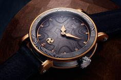 Nordic Seasons Gold Limited Edition Watches by GoS featuring Damascus Steel